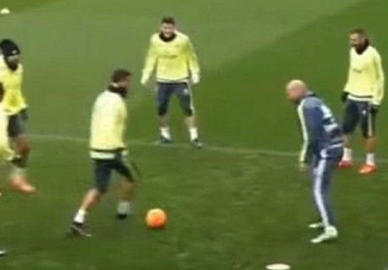 Una falta de respeto: Cristiano intentó tirarle un caño a Zidane
