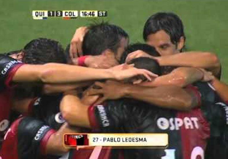 Colón: Ledesma, el jugador destacado de UNO x UNO