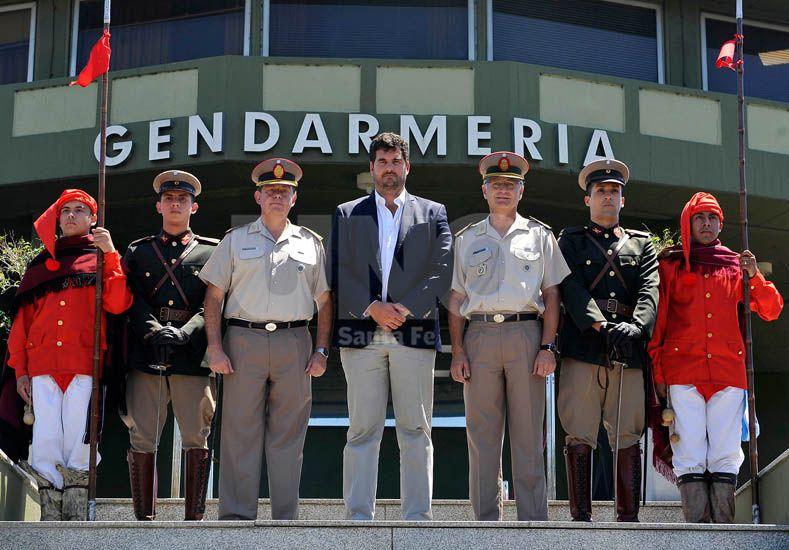 Burzaco: Gendarmería irá recuperando paulatinamente su rol en la frontera
