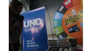 Éxito total de La Raspadita, el nuevo juego del UNO