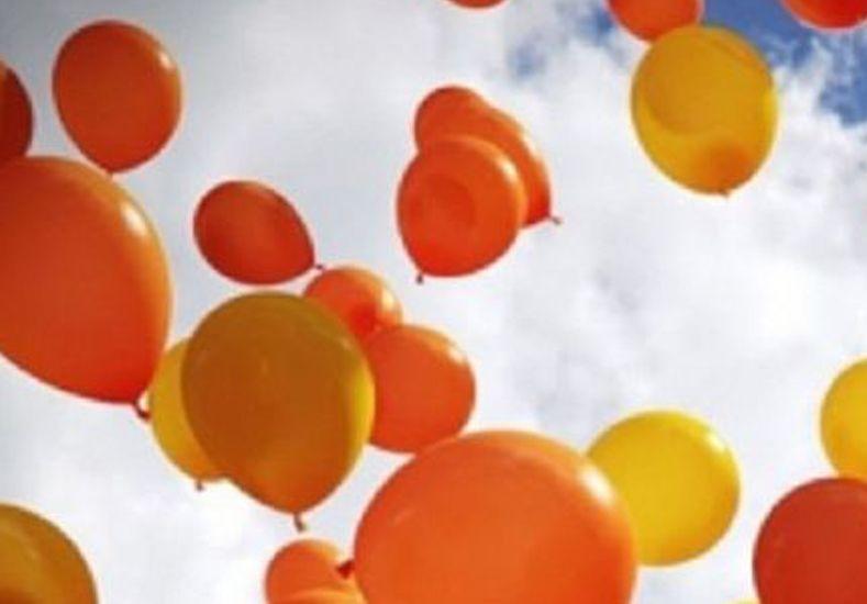 Realizarán una suelta de globos por el Día del Cáncer infantil