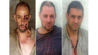Las fotos de la discordia. Martín y Cristian Lanatta y Víctor Schillaci cuando se encontraban detenidos