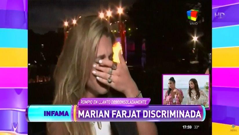 La crisis de Marian Farjat por la mala relación con sus compañeras