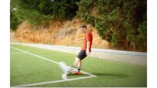 Messi y la genialidad de hacer con los pies lo inimaginable.