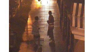 Gracias a las cámaras detuvieron a dos delincuentes en La Peatonal