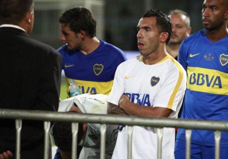 Orión y Tevez los más exaltados tras la goleada que le propinó San Lorenzo