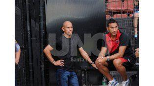 Clemente Rodríguez cumplió la fecha de suspensión y hará su estreno mañana en cancha de Quilmes / Foto: Manuel Testi - Uno Santa Fe