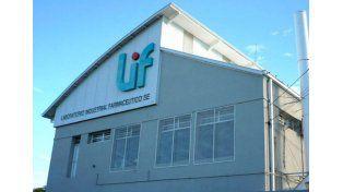LIF. El laboratorio ofreció elaborar un millón de comprimidos antifebriles / Foto: Gentileza Gobierno de la Provincia de Santa Fe