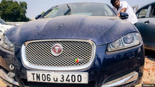 Los autos que van a remate en Chennai