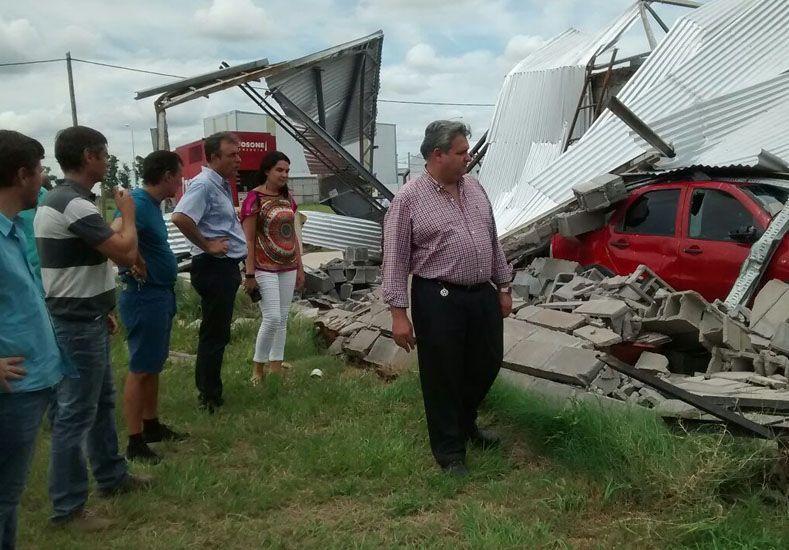 La provincia gestiona ayudas financieras para empresas damnificadas por el temporal en Rafaela
