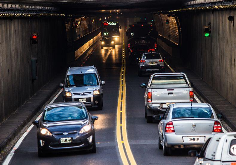 Más de 70 mil vehículos cruzaron por el Túnel Subfluvial durante el feriado de Carnaval