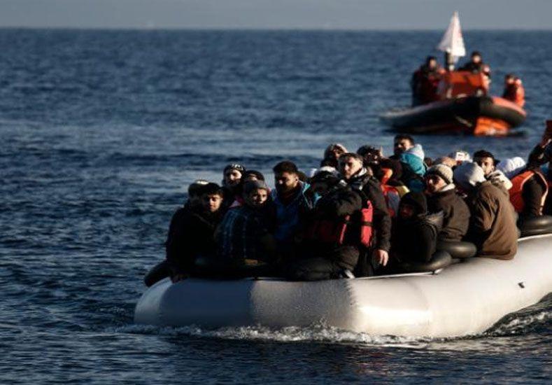 Llegan diez veces más refugiados a Europa en el inicio de 2016