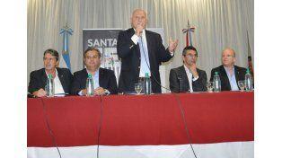 El gobernador Miguel Lifschitz durante la presentación del Plan del Norte en Vera / Foto: Gentileza Prensa Gobierno de la Provincia de Santa Fe