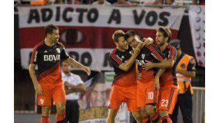 EN el segundo tiempo Quilmes mostró sus flaquezas y el Millonario no perdonó.