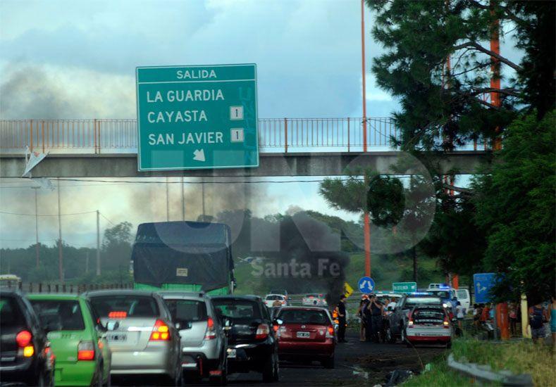 El corte es total desde las 19.30 / Foto: Mauricio Centurión - Uno Santa Fe