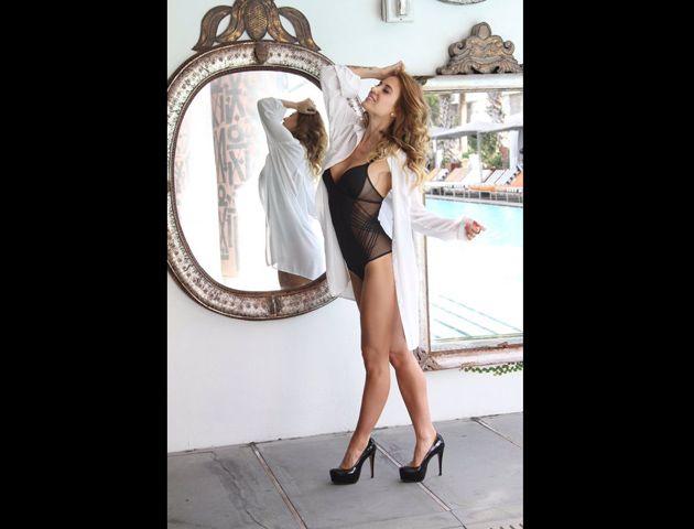 La modelo generó suspiros entre sus fanáticos que la llenaron de halagos en su cuenta de Instagram.
