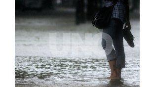 Luego de la tormenta, rige un alerta meteorológico para todo el centro y norte provincial