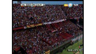 Colón venció 2 a 1 a Arsenal y tuvo un debut casi ideal