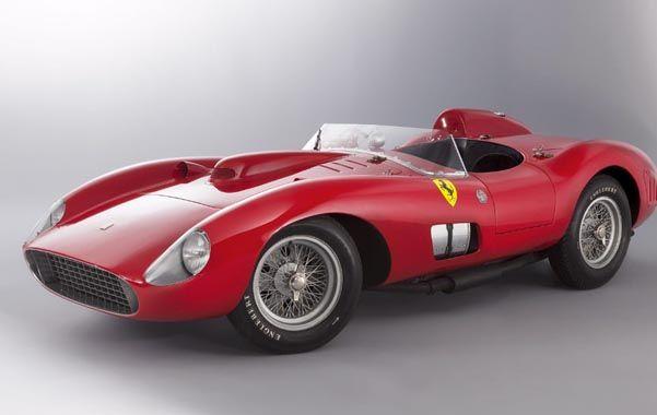 Una obra de arte. El famoso auto de carreras fue construido por Sergio Scaglietti en la década de 1950.