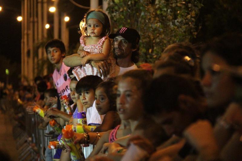 Carnavales: las agrupaciones barriales desataron la fiesta en Costanera Este