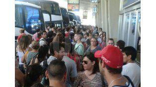 tecnopolis + tc: ¿como sera el servicio de transporte a parana este fin de semana?