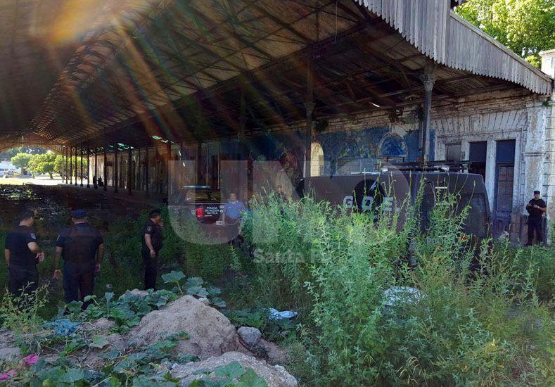 Encontraron el cadáver de una adolescente en la ex estación Mitre