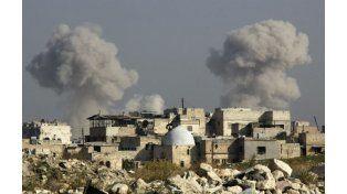 Causa y efecto. Bombardeo ruso en las afueras de Alepo.