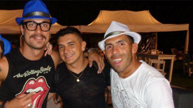 La fiesta íntima del cumpleaños de Carlitos Tevez