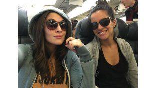 Ivana Nadal se fue a Brasil y mandó fotos hot con una amiga