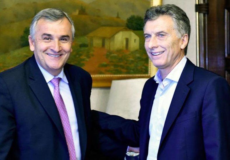 Macri se muestra con Morales, Massa y Urtubey en su gira por el Norte