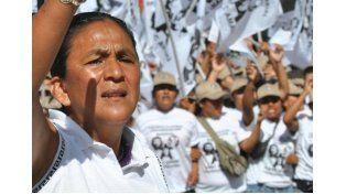 Peña y Frigerio recibieron a dirigentes que piden liberación de Milagro Sala