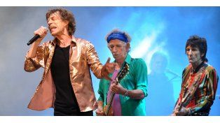 Los Rolling Stones ya están en la Argentina