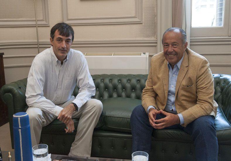 Bullrich se reunió con Adolfo Rodríguez Saá