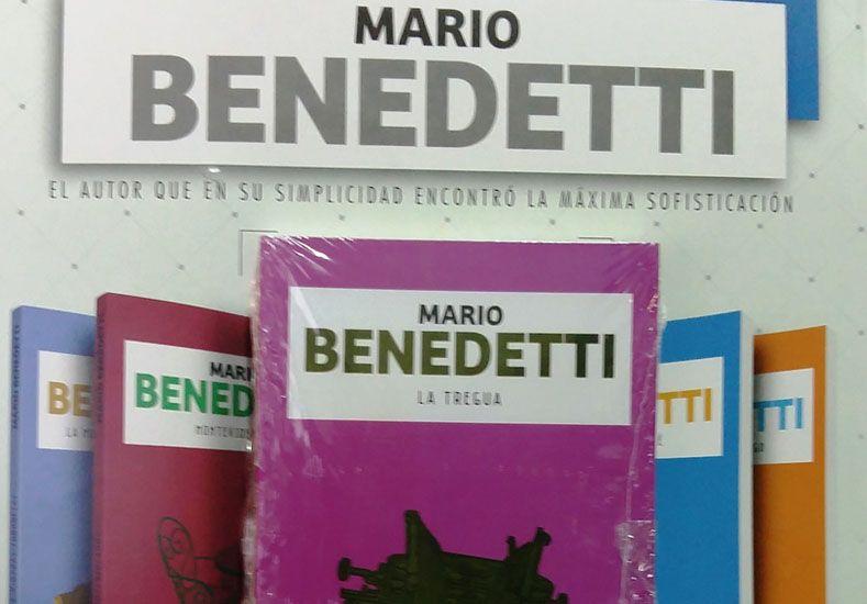 Gran lanzamiento con el UNO: llegan las novelas de Mario Benedetti