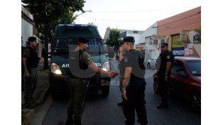 Policía y Gendarmería trabajan en conjunto en la ciudad de Santa Fe