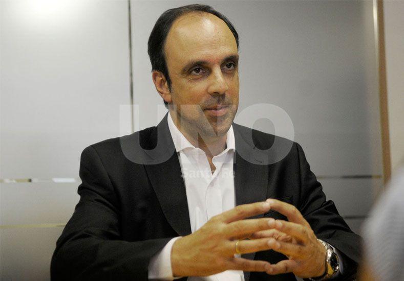 José Corral se reúne con Atilio Benedetti, integrante del directorio del Banco de la Nación Argentina