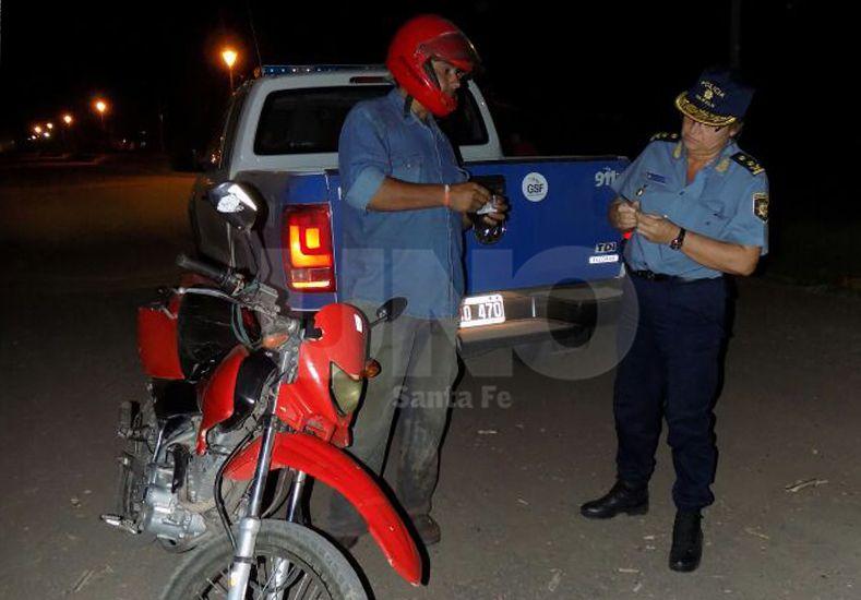 San Lorenzo: hubo 27 detenidos, tres con pedido de captura y 12 motos secuestradas