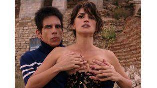 Ben Stiller contó que esta escena la repitió muchas veces.