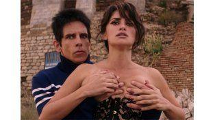 Ben Stiller comentó que la escena se tuvo que repetir varias veces