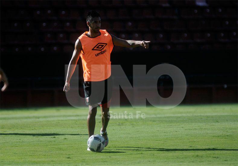 Figueroa sería autorizado para ser titular el domingo ante Arsenal / Foto: Juan Manuel Baialardo - Uno Santa Fe