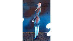Las sensuales transparencias de Julieta Ortiz en los Estrella de Mar