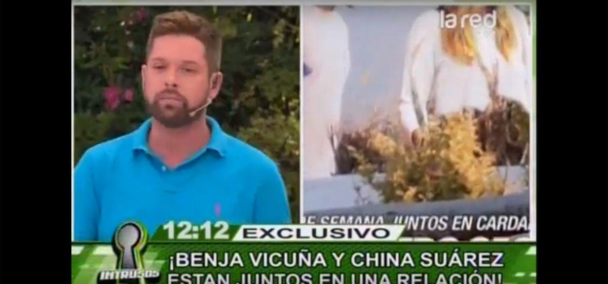 Confirman el romance de La China Suárez y Benjamín Vicuña
