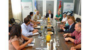Los Concejales mantuvieron un encuentro con la Mesa de Entidades Productivas de Santa Fe