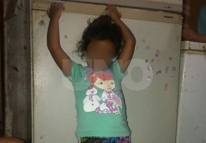 Grave. Maia Martínez de tres años fue operada y está internada en terapia del Hospital de Niños.