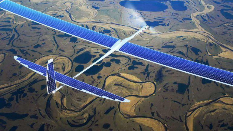 Google ensaya con drones para llevar internet a todo el mundo