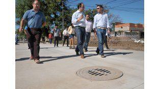 Avanza la obra de pavimento, desagües e iluminación en 9 cuadras de Liceo Norte