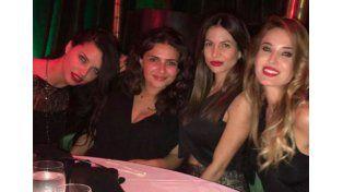 ¡Amiguitas! Jesica Cirio salió de fiesta con la supermodelo Adriana Lima