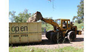 La provincia puso en marcha el Centro de Transferencia de Residuos Transitorios de Rincón