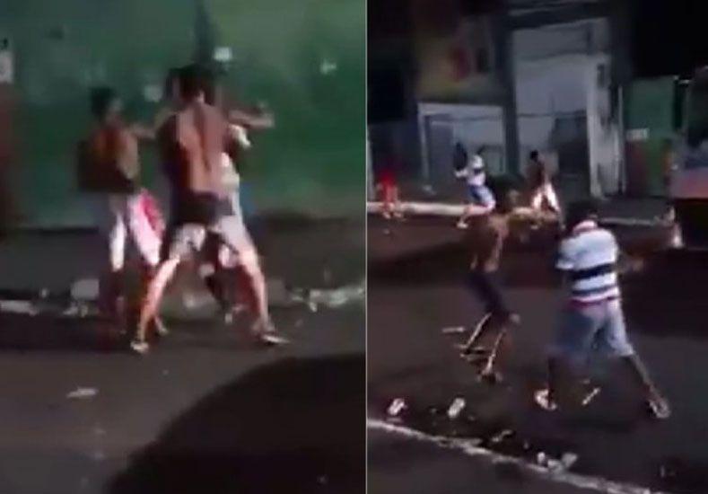 Video: brutal asesinato a patadas en una calle de Brasil