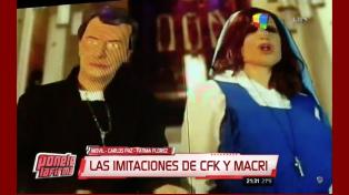 ¡Para descostillarse de risa! Fátima Florez presentó el musical de Mauricio y Cristina